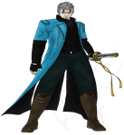 Devil May Cry Vergil -- Relook by The-Bone-Snatcher