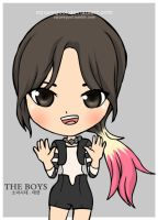 SNSD TAEYEON THE BOYS by squeegool