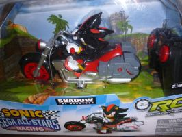 SOnic and sega all star racing Shadow by sira-the-hedgehog