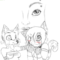 P-chat doodles of doom by Nessia