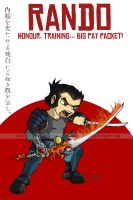 CR File - Rando the Samurai by happymonkeyshoes