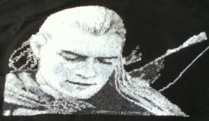 Legolas Cross Stitch Lord of the Rings by Nevermind1977