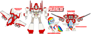 Targetmaster Powerglide by Tyrranux