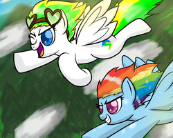 Request: An Afternoon Flight by Mister-Markers