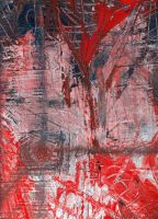 Red Abstract by ozpopo