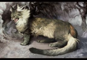 My Dragon Cat by Smirtouille