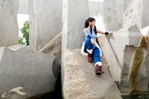 Otakon 2012 - Legend of Korra | Korra by elysiagriffin