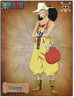 Usopp-New by Deidara465