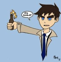 Castiel PS by xiam47