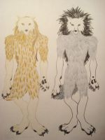 a Wolf's Tale, Tom and Bill by firelucy