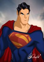 MAN OF STEEL Superman by Des Taylor by DESPOP