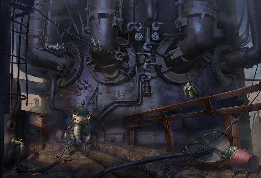 Machinarium by Saikono