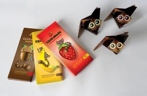Origami pack for chocolate by milawlo