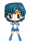 Sailor Mercury Chibi by IcyPanther1