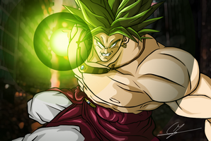 Broly Attacks by ShynTheTruth