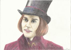 Willy Wonka by ViviDybowski