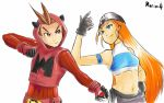 Quick Draw : Magma Apollo vs Aqua Cykes by Marini4