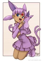 Espeon by keevs