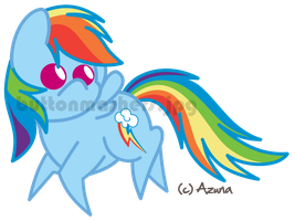 Rainbow Dash : BBBFF Reprise by Wistolf
