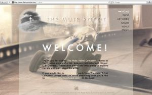 New Website Design Finally! by TheMuteRobot