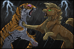 Clash of Titans by Caliber13