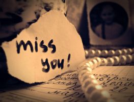 miss you... by fotoria2