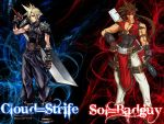 Cloud Strife and Sol Badguy by Akane089