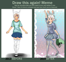 Draw this again- 2 years of improvement by EpicTaxi