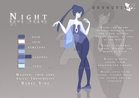 Night blue pearl | Character Sheet by SouOrtiz
