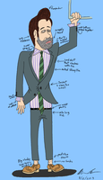 Young Modern Businessman by GoldenEraFan