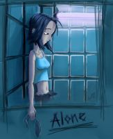 Alone by aggettzz