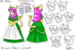 Commission- Princess Sherry Concept by KohakuKun19