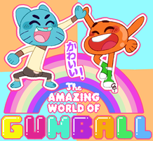 Gumball and Darwin by GoopyCat
