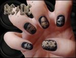 Acdc Nails by Ninails