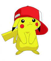Ash's Pikachu by Crystic