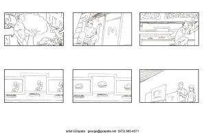 McDonald's Threemendous Storyboards 2 by gzapata