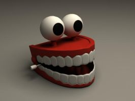 LP Toy Chattering Teeth Final by sicklilmonky