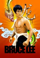 bruce lee by aremanvin