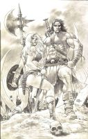 HYBORIAN AGE by thepunisherone