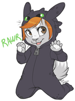 Rawr - Little Strawbs by strawberryneko33