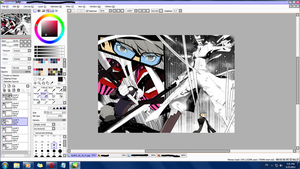 Persona 4.. WIP by chansan18