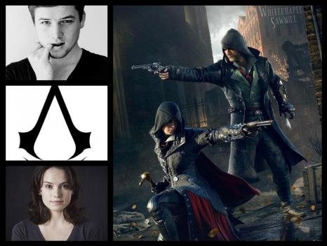 Assassin's Creed Casting - Jacob and Evie Frye by Doc0316