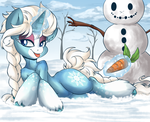 Snow by Potionpony