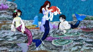 [MMD] The World under the Sea (VIDEO) by MrMario31095