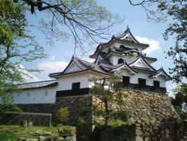 Hikone Castle 01 by nicojay