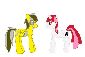 Wrench-butt Ponies by PaintTasticPony