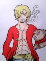 Sanji #LookLikeLuffy by Dika-Brew
