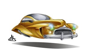 concept flying car 2 by mherrador