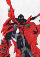 Spawn Posing by ChahlesXavier