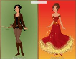 Katniss: Girl on Fire by KendraKickz0220